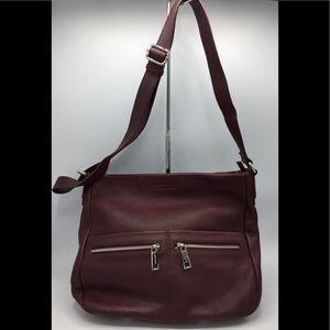 Rudsak Atelier Noir Pebbled Leather Shoulder Bag